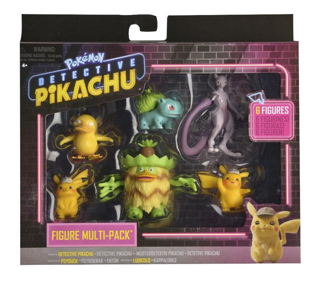 Afbeelding van Pokémon Detective Pikachu multipack 6 figuren from DreamLand