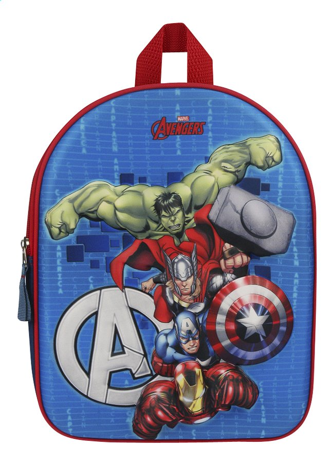 Image pour Sac à dos Avengers Fight the Foes 3D à partir de DreamLand