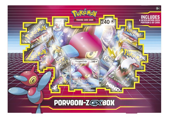 Afbeelding van Pokémon Trading Cards Porygon Z Gx Box September 19 from DreamLand