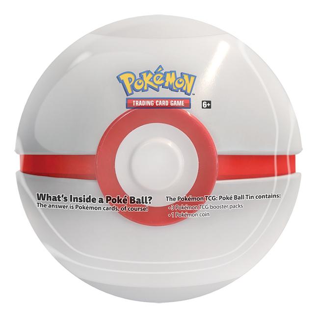 Pokémon Trading Cards Poké Ball Tin - Premier Ball ANG