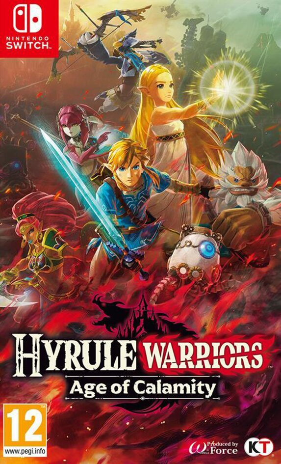 Nintendo Switch Hyrule Warriors: Age of Calamity ENG