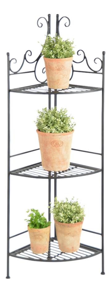 Esschert Design étagère à plantes noir