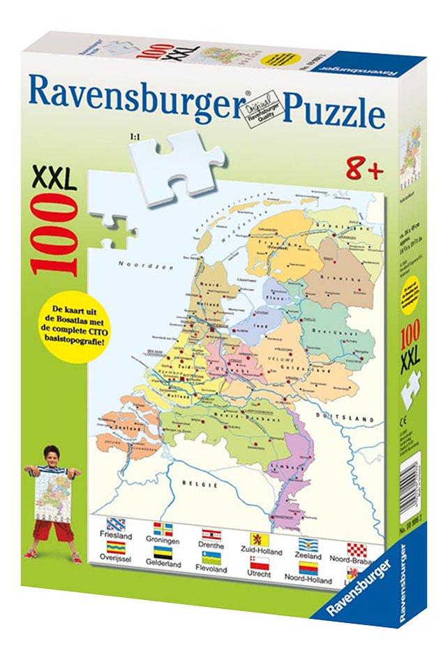 Image pour Ravensburger puzzel Landkaart Nederland NL à partir de DreamLand