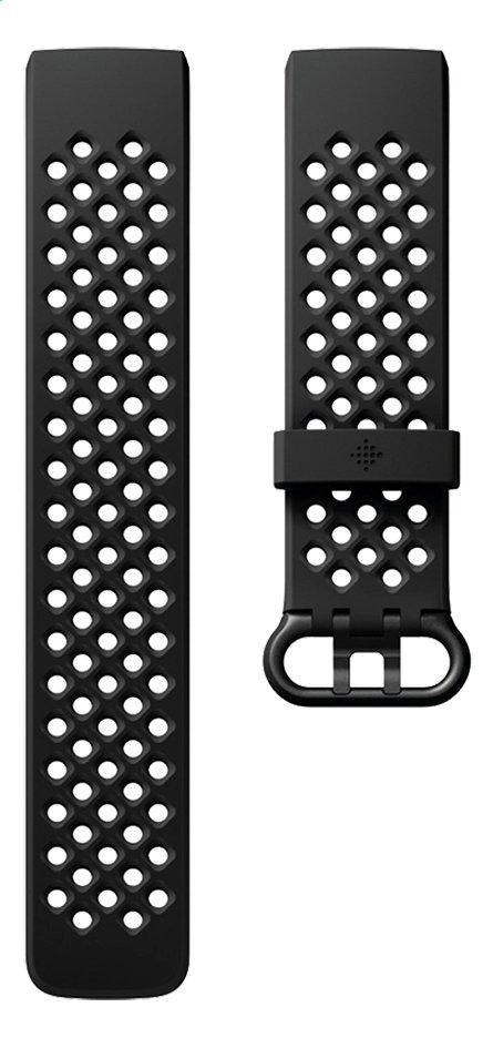 Image pour Fitbit bracelet sport pour Charge HR 3 L noir à partir de DreamLand