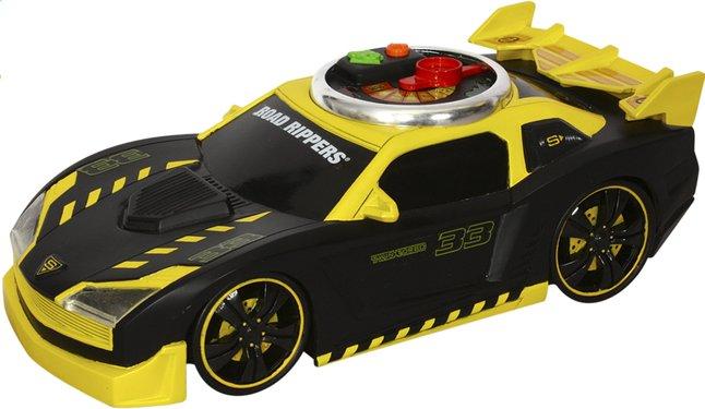 Afbeelding van Road Rippers auto Turbo Revver zwart/geel from DreamLand