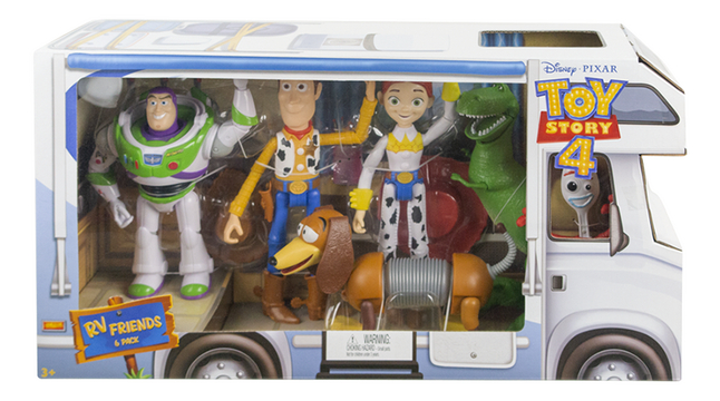 Speelset Toy Story RV Friends 6 pack