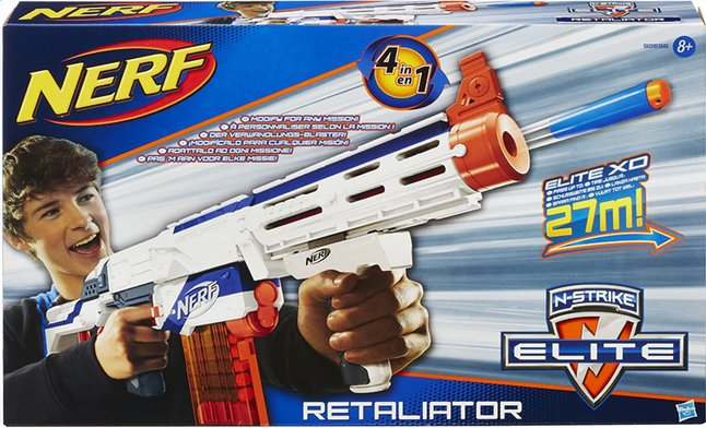 Afbeelding van Nerf N-Strike Elite blaster Retaliator from DreamLand