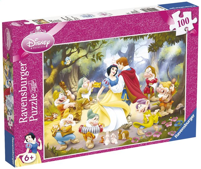 Afbeelding van Ravensburger puzzel Sneeuwwitje from DreamLand