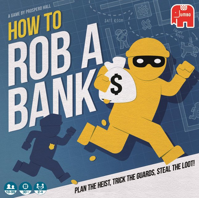 Afbeelding van How to rob a bank from DreamLand