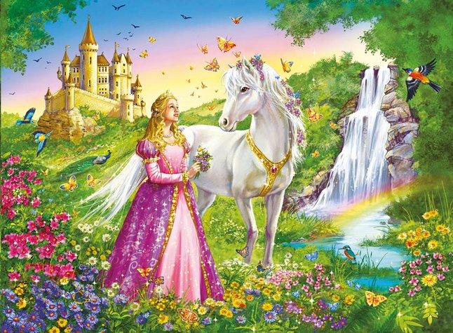 Image pour Ravensburger puzzle Princesse et cheval à partir de DreamLand