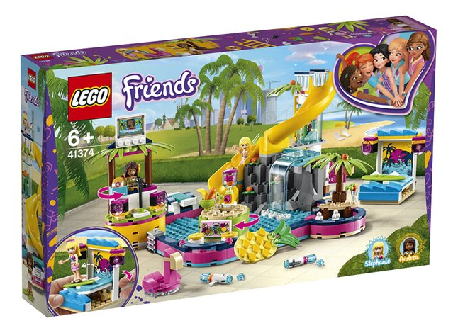 Afbeelding van LEGO Friends 41374 Andrea's zwembadfeest from DreamLand