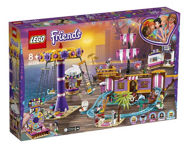 Afbeelding van LEGO Friends 41375 Heartlake City pier met kermisattracties from DreamLand