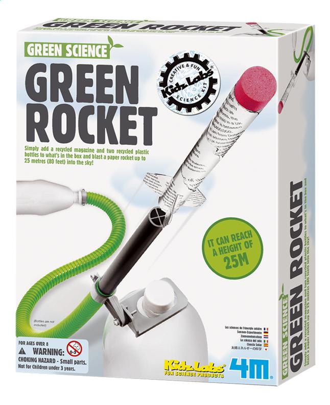 Afbeelding van 4M Green Science Groene raket from DreamLand