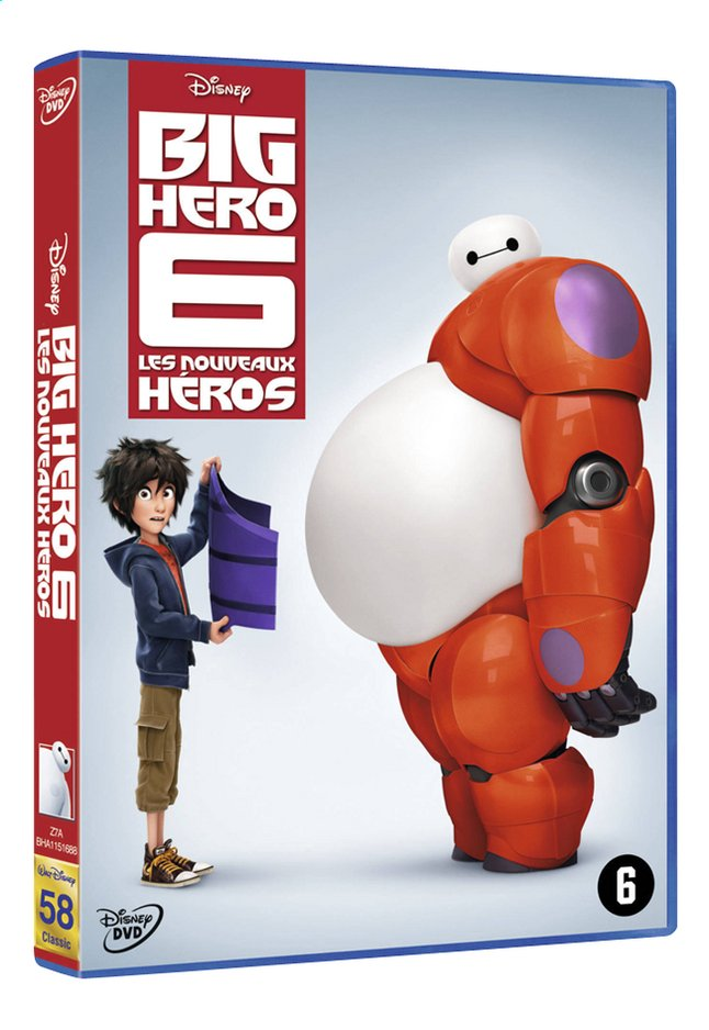 Afbeelding van Dvd Big Hero 6 from DreamLand