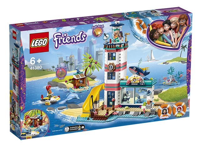 Afbeelding van LEGO Friends 41380 Reddingscentrum in de vuurtoren from DreamLand