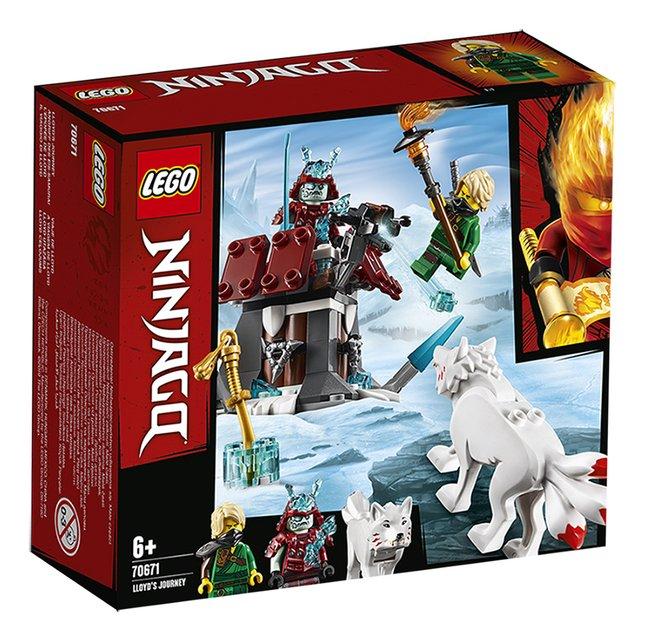 Afbeelding van LEGO Ninjago 70671 De reis van Lloyd from DreamLand