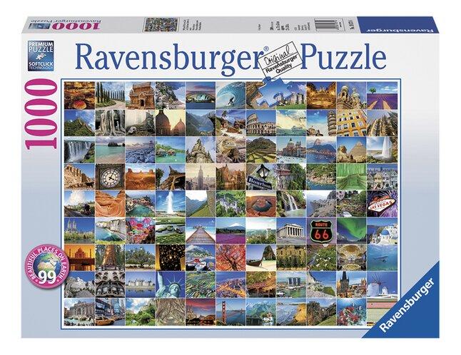 Afbeelding van Ravensburger puzzel 99 mooie plekken op aarde from DreamLand