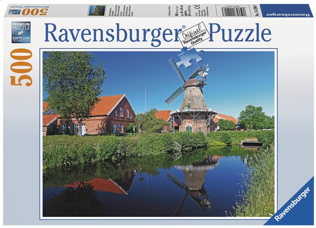 Afbeelding van Ravensburger puzzel Oost-Friese windmolen from DreamLand