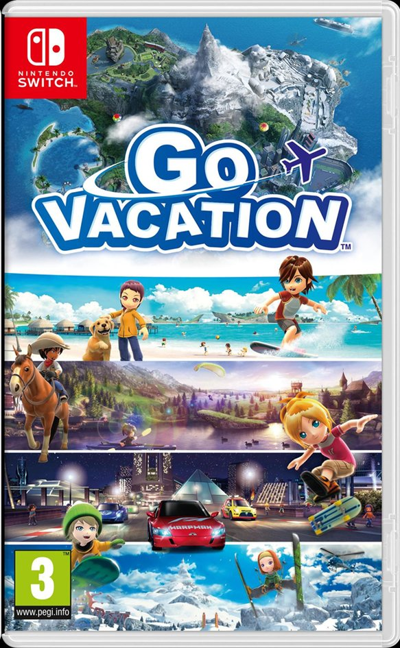 Image pour Nintendo Switch Go Vacation FR à partir de DreamLand