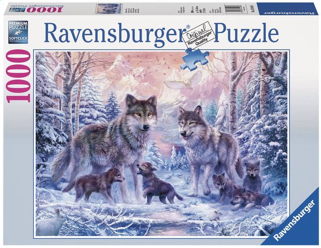 Afbeelding van Ravensburger puzzel Arctische wolven from DreamLand