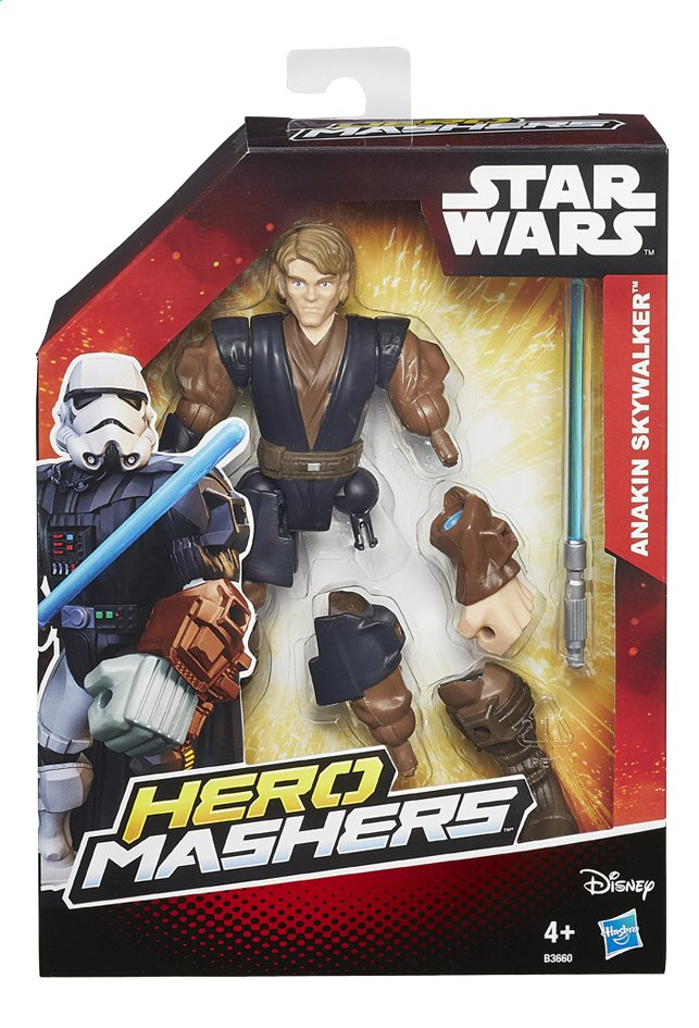 Afbeelding van Figuur Star Wars Hero Mashers Anakin Skywalker from DreamLand