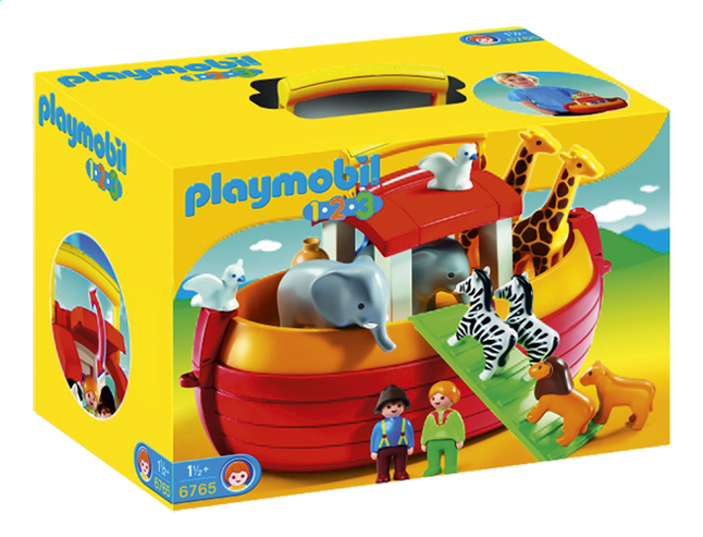 Afbeelding van Playmobil 1.2.3 6765 Ark van Noah from DreamLand