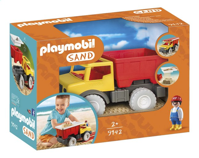PLAYMOBIL Sand 9142 Kiepwagen met emmer