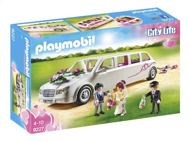 playmobil city life 9227 limousine avec couple de mari s dreamland. Black Bedroom Furniture Sets. Home Design Ideas