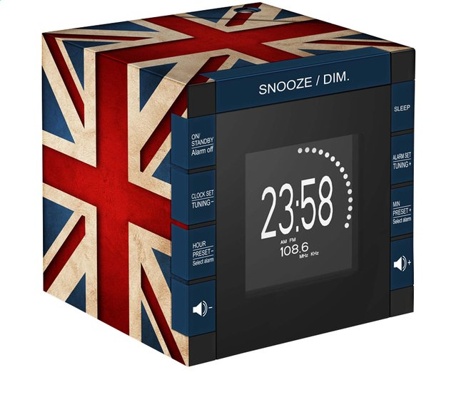 Image pour bigben radio-réveil RR70 avec projection Great Britain à partir de DreamLand