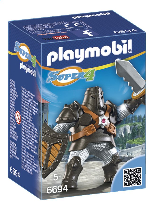 Afbeelding van Playmobil Super 4 6694 Colossus from DreamLand