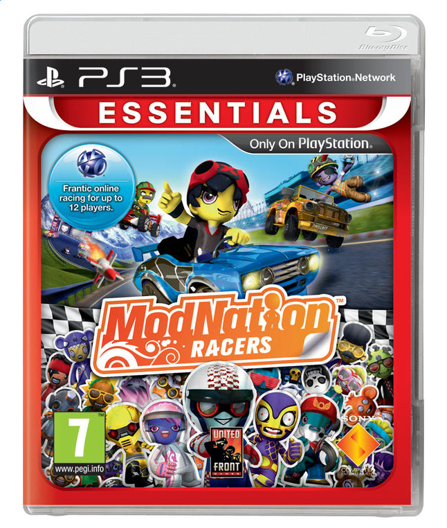 Afbeelding van PS3 ModNation Racers Essentials ENG/FR from DreamLand