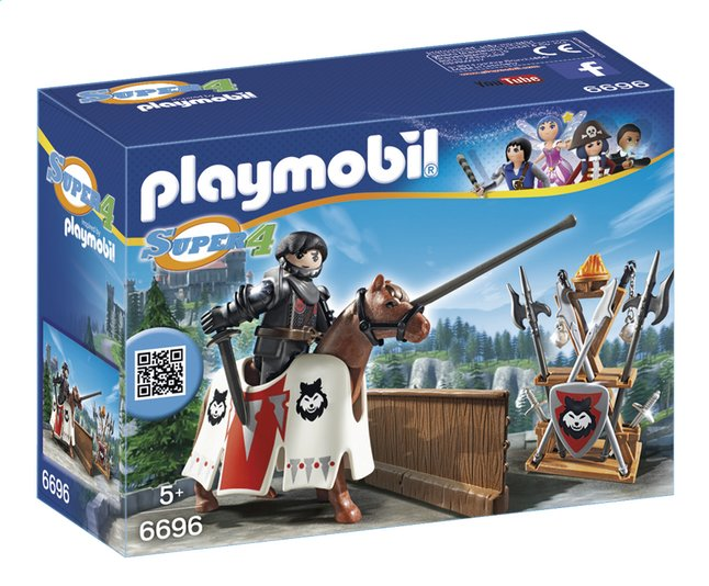 Afbeelding van Playmobil Super 4 6696 Heer Rypan wachter van de Zwarte Baron from DreamLand