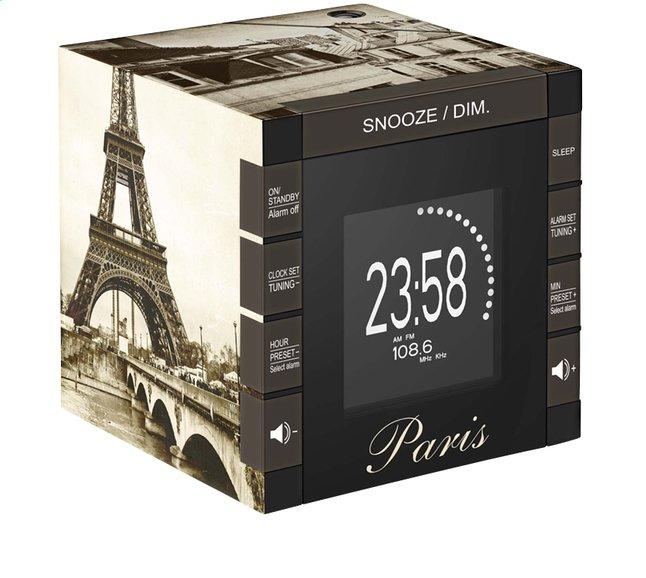 Afbeelding van bigben wekkerradio met projectie RR70 Parijs from DreamLand