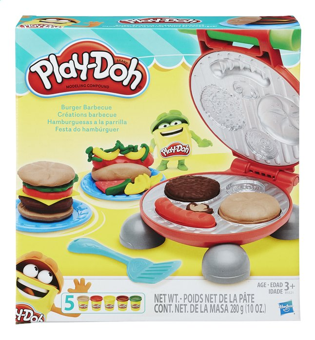 Afbeelding van Play-Doh Burger Barbecue from DreamLand