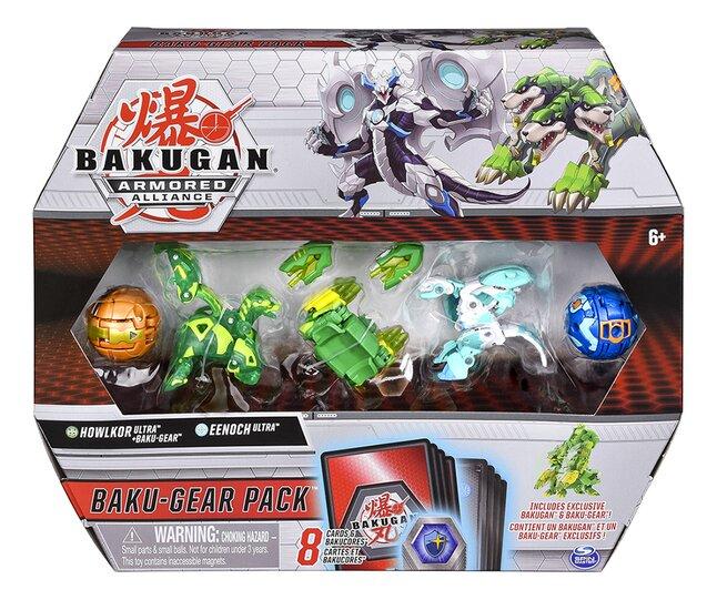 Bakugan Baku-Gear 4-Pack - Howlkor & Eenoch