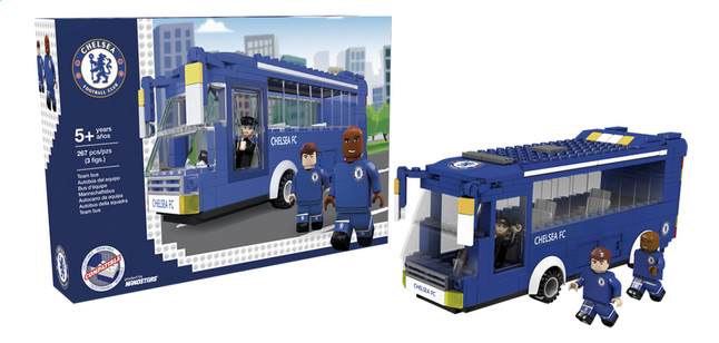 Afbeelding van Nanostars Chelsea FC Teambus from DreamLand
