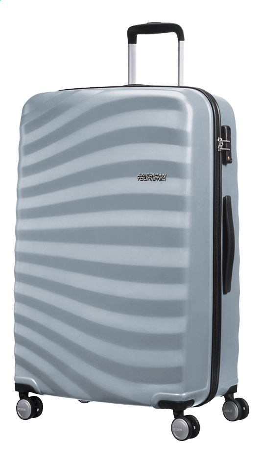 Afbeelding van American Tourister Harde reistrolley Oceanfront Spinner sky silver from DreamLand