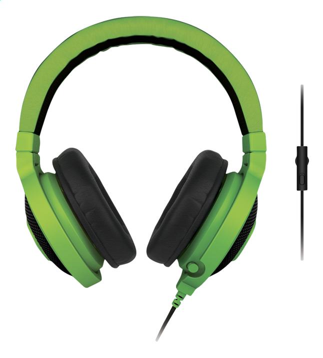 Image pour Razer casque-micro Kraken Pro eSport Gaming vert à partir de DreamLand