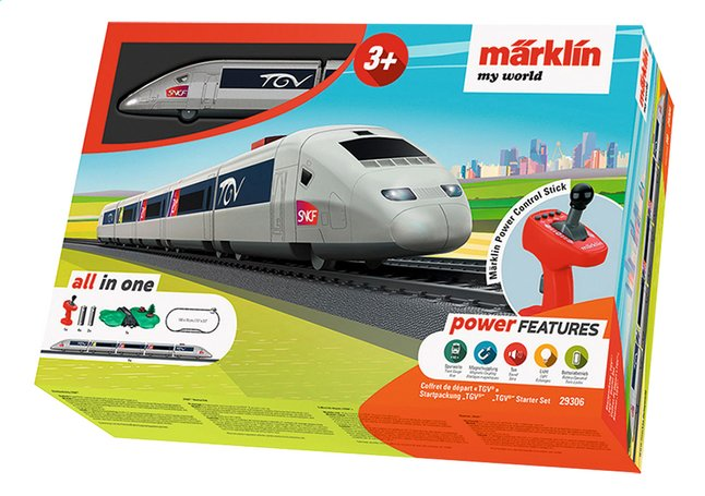 Märklin My World coffret de démarrage TGV
