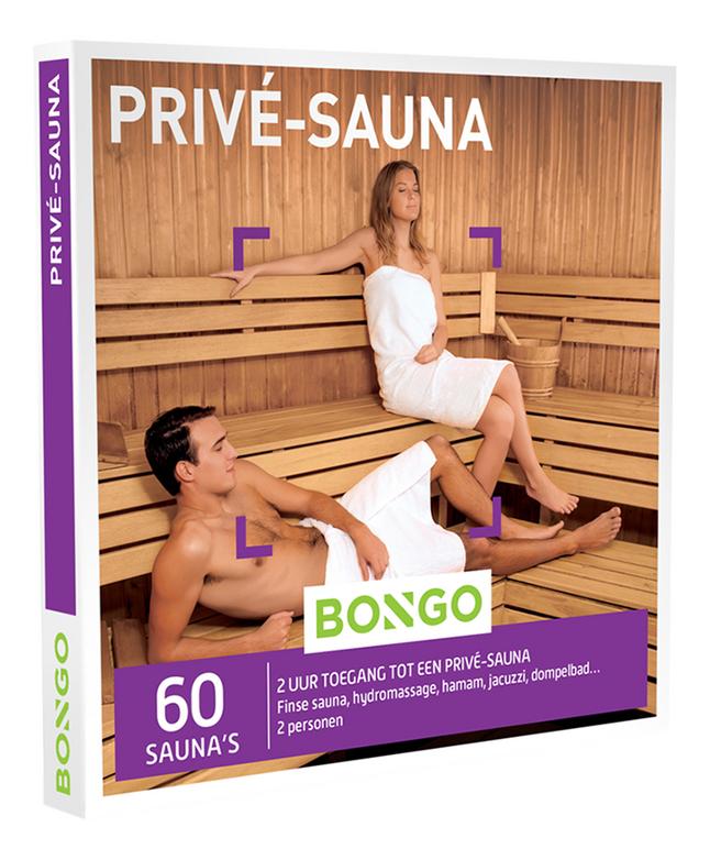 Bongo cadeaubon Privé-Sauna