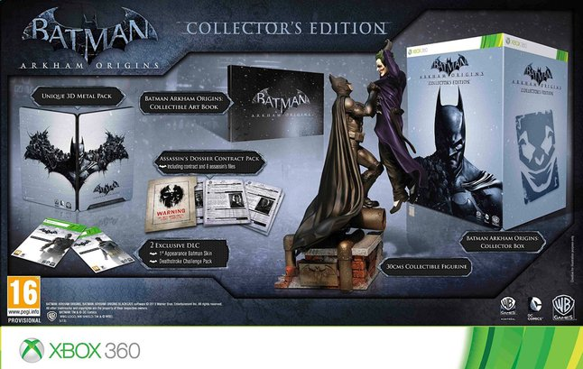 Afbeelding van XBOX 360 Batman: Arkham Origins Collector's Edition E/F from DreamLand
