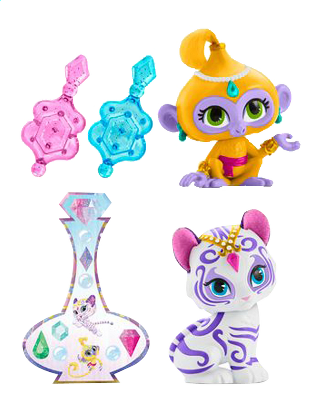 Afbeelding van Fisher-Price minipopje Shimmer & Shine Tala & Nahal from DreamLand