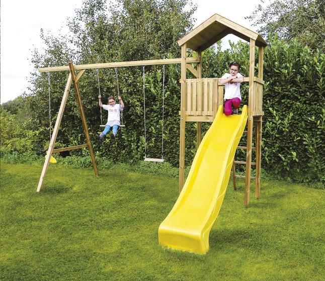 Afbeelding van Houten speeltoren voor Nieuwpoort from DreamLand