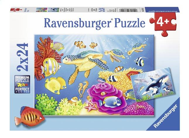 Afbeelding van Ravensburger puzzel 2-in-1 Kleurrijke onderwaterwereld from DreamLand