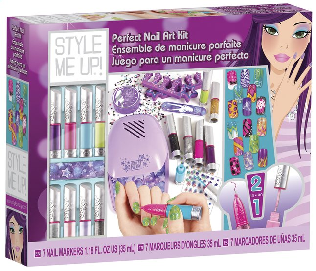 Afbeelding van Perfecte manicureset Style Me Up! from DreamLand