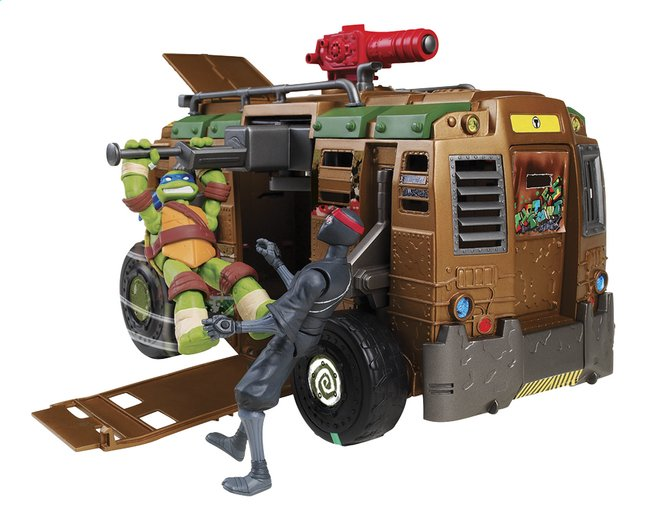 Afbeelding van Speelset Teenage Mutant Ninja Turtles Shellraiser en Leo from DreamLand
