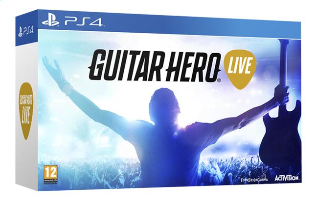 Afbeelding van PS4 Guitar Hero Live + gitaarcontroller FR from DreamLand