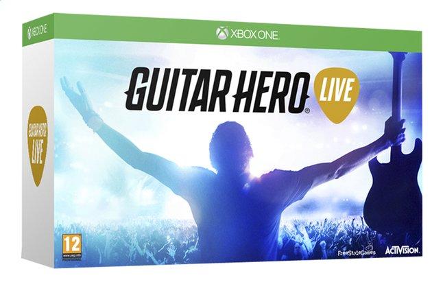Image pour XBOX One Guitar Hero Live + manette guitare ANG à partir de DreamLand