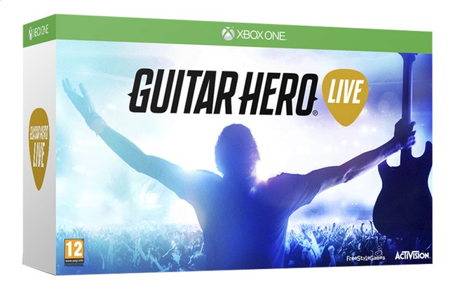 Image pour XBOX One Guitar Hero Live + manette guitare FR à partir de DreamLand