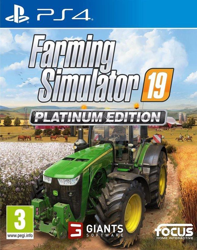 PS4 Farming Simulator 19 Platinum Edition ENG/FR